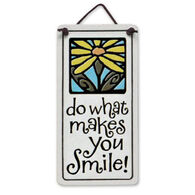"Spooner Creek ""Do What Makes You Smile"" Mini Charmers Tile"
