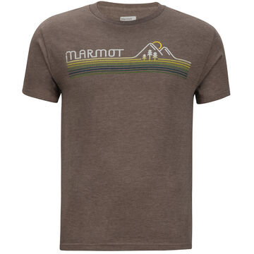 Marmot Mens Line Set Marmot x Thread Short-Sleeve T-Shirt
