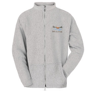 ESY Mens Moose Full-Zip Sweatshirt