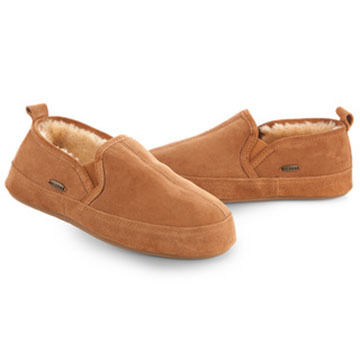 Acorn Mens Romeo II Sheepskin-Lined Slipper