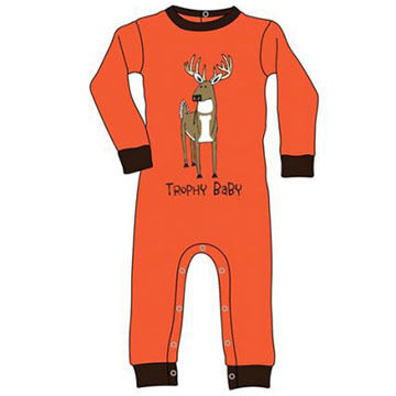 Lazy One Infant Boys Trophy Baby Unionsuit