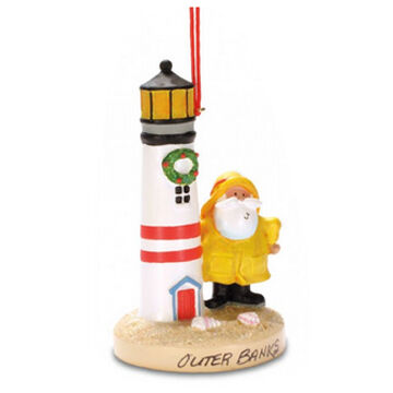 Cape Shore Resin Salty & Lighthouse Ornament