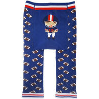 Huggalugs Infant Boy's Football Knit Pant