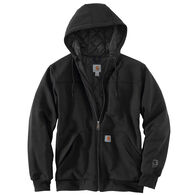 Carhartt Men's Big & Tall Rain Defender Rockland Quilt-Lined Full Zip Hooded Sweatshirt