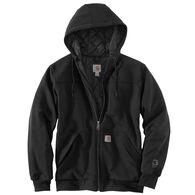 Carhartt Men's Rain Defender Rockland Quilt-Lined Full Zip Hooded Sweatshirt