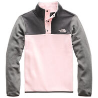 The North Face Girls' Glacier Quarter Snap Pullover