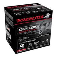 "Winchester DryLock Super Steel Magnum 12 GA 3-1/2"" 1-9/16 oz. #2 Shotshell Ammo (25)"