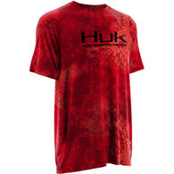 Huk Kryptek Solid Short-Sleeve Inset T-Shirt