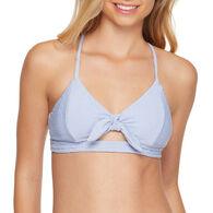 Sol Collective Women's Pucker Bralette Swimsuit Top