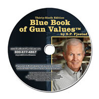 Blue Book of Gun Values 36th Edition on CD-ROM by S.P. Fjestad