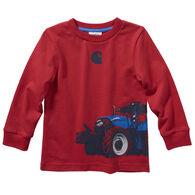 Carhartt Toddler Boy's Tractor Wrap Long-Sleeve Shirt