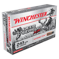 Winchester Deer Season XP 243 Winchester 95 Grain Extreme Point Rifle Ammo (20)
