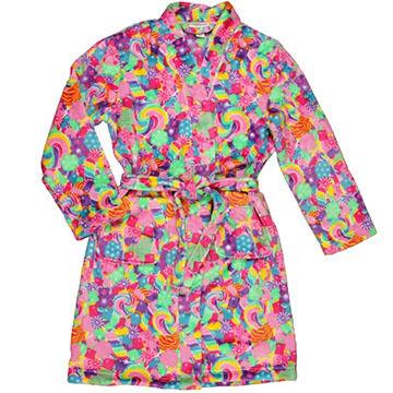 Candy Pink Girls' Candy Fleece Robe