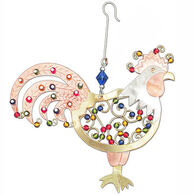 Pilgrim Imports Rise And Shine Rooster Ornament