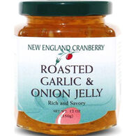 New England Cranberry Company Roasted Garlic And Onion Jelly, 12 oz.