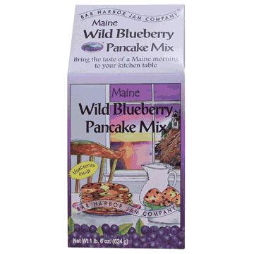 Bar Harbor Jam Company Blueberry Pancake Mix