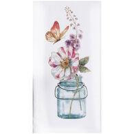 Kay Dee Designs Butterfly Flower Garden Flour Sack Towel
