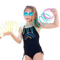 Girl & Co. Limeapple  Girl's Harley Swimsuit, 1-Piece