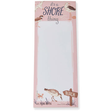Hatley Little Blue House Its a Shore Thing Magnetic List Notepad