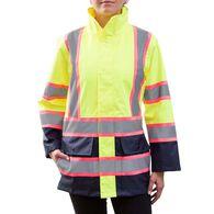 Utility Pro Women's Hi Visibility Rain Jacket