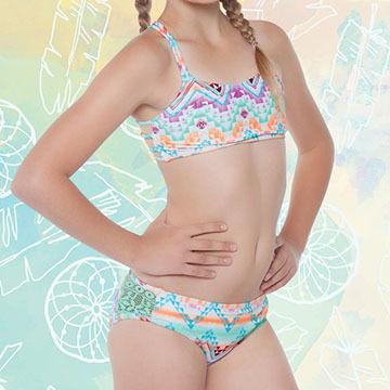 Gossip Girl Girls' Desert Mirage Bikini Swimsuit, 2-pc