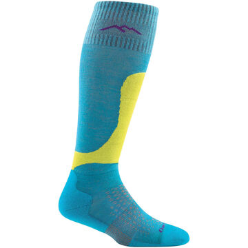Darn Tough Vermont Womens Fall Line Over-the-Calf Padded Light Cushion Ski/Board Sock
