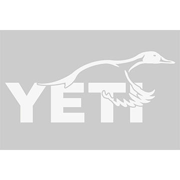 YETI Pintail Duck Window Decal