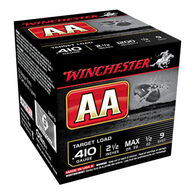 """Winchester AA Target 410 GA 2-1/2"""" 1/2 oz. #9 Shotshell Ammo (25)"""