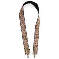 Joy Susan Women's Floral Embroidered Guitar Strap