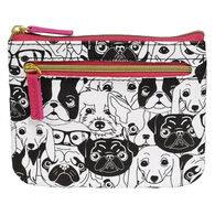 Buxton Women's Dogs ID - RFID Coin Card Case