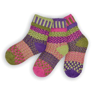 Solmate Socks Boys & Girls Grasshopper Sock, 3/pc