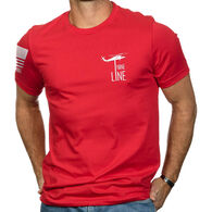 Nine Line Apparel Men's Red Remember Everyone Deployed Short-Sleeve T-Shirt