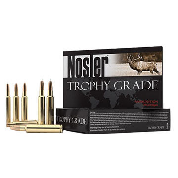 Nosler Trophy Grade Long Range 26 Nosler 129 Grain ABLR BT Rifle Ammo (20)