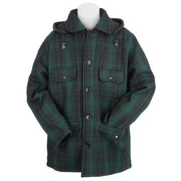 Johnson Woolen Mills Mens Classic Button Mackinaw Jacket