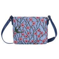 Signare Women's Almond Blossom and Swallow Bag Purse Crossbody Handbag