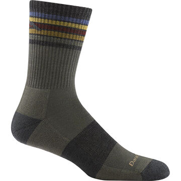 Darn Tough Vermont Mens Kelso Light Cushioned Hiking Micro Crew Sock
