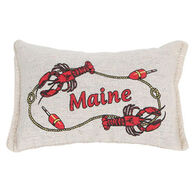 """Paine Products 5"""" x 4"""" Lobster Balsam Pillow"""