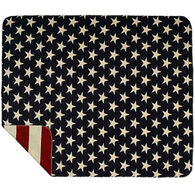 Monterey Mills Denali Stars and Stripes Throw Blanket