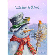 LPG Greetings Warm Wishes Snowman Boxed Christmas Cards