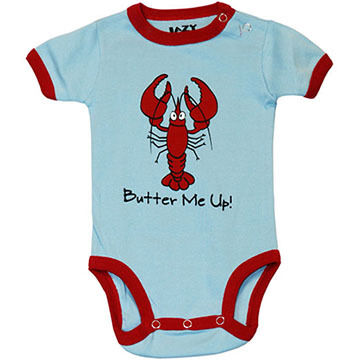 Lazy One Infant Boys & Girls Lobster Butter Me Up Creeper