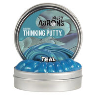 Crazy Aaron's Mini Electric Teal Thinking Putty - 0.47 oz.