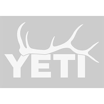YETI Elk Antler Window Decal