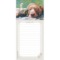 Pumpernickel Press Pecking Order Magnetic List Notepad