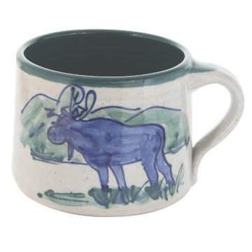 Great Bay Pottery Handmade Ceramic Soup Mug - 16 oz.