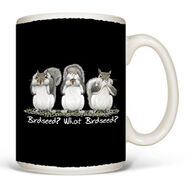 Earth Sun Moon What Birdseed Mug