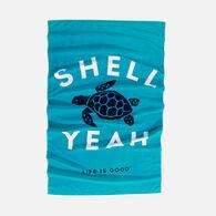 Life is Good Shell Yeah Turtle Beach Towel