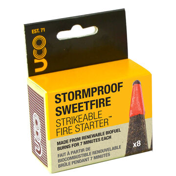 UCO Stormproof Sweetfire Strikeable Fire Starter - 8 Pk.
