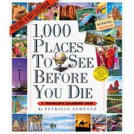 1,000 Places to See Before You Die Picture-A-Day 2020 Wall Calendar by Patricia Schultz