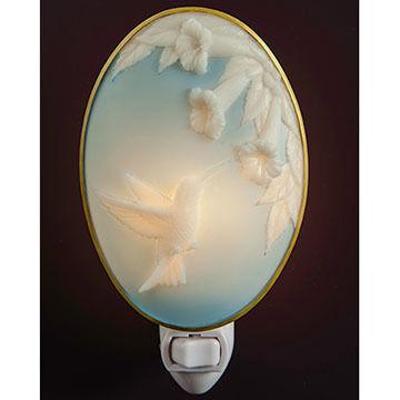 Ibis & Orchid Design Hummingbird Cameo Nightlight