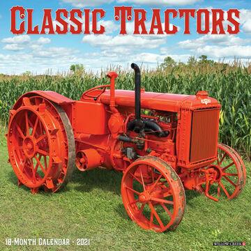 Willow Creek Press Classic Tractors 2021 Wall Calendar